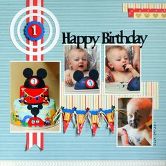 Drue's 1st Birthday