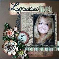 Self portrait page