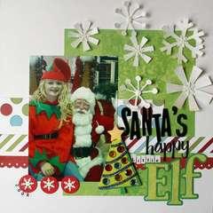 Santa's Happy Little Elf
