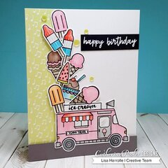 Happy Birthday Ice Cream Truck