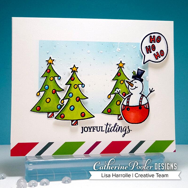 Joyful Tidings Snowman