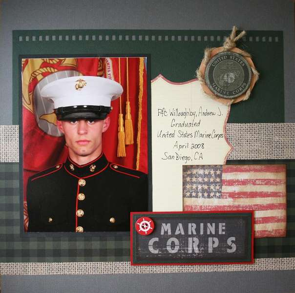 Proud to be a Marine page 1