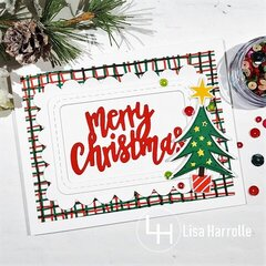 Merry Christmas Traditional Colors