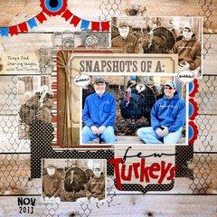 A Few Turkeys