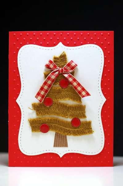 Christmas Tree Card #2