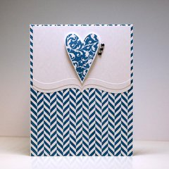 Stamped Heartfelt Note cards