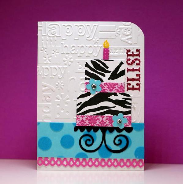Tiered Birthday Cake #2