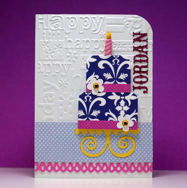 Tiered Birthday Cake #1