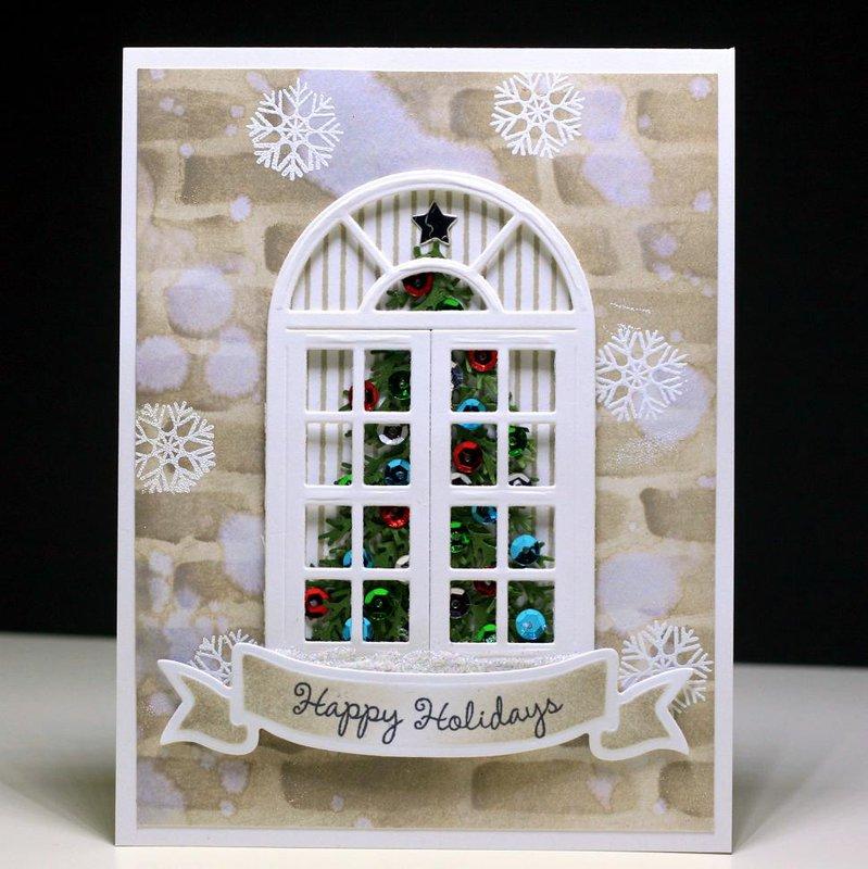 Christmas Tree Window