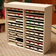 DIY Ink Pad Storage - foam board