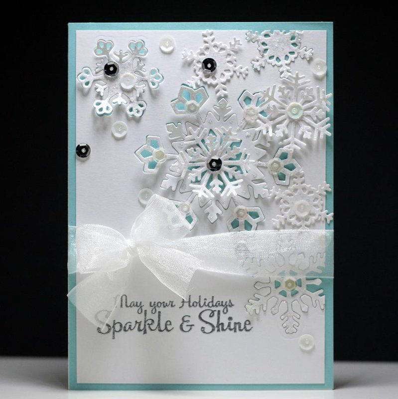 Layered Snowflakes