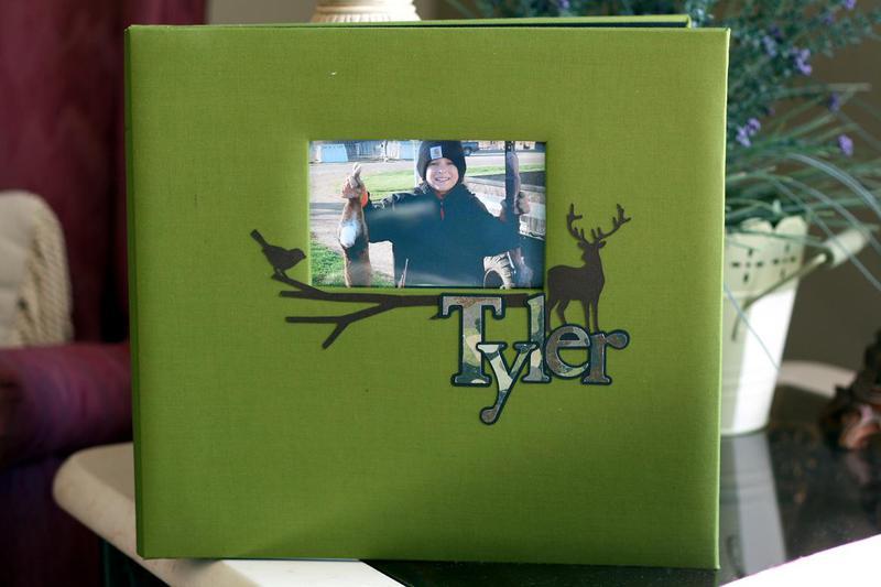 Tyler's Scrapbook cover