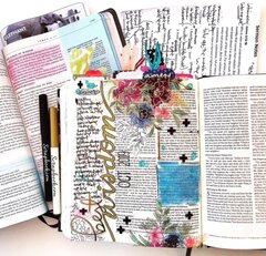 Best Wisdom Bible Journaling Layout