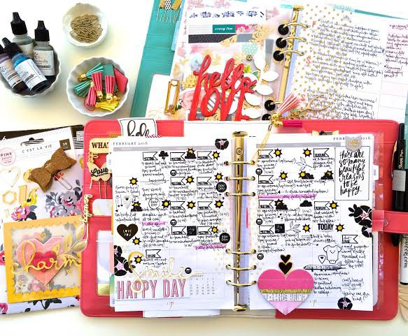 February 2016 Planner Layout