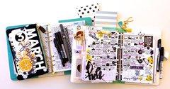 March 2016 Planner/Calendar Layout