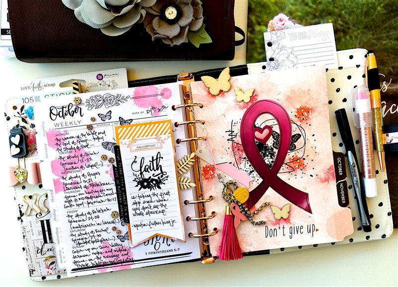 Weekly Planner Layout and Divider
