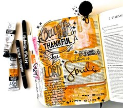 Bible Journaling Layout