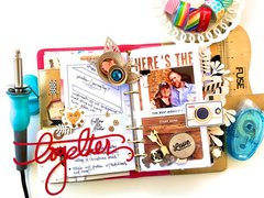 Love Never Fails Planner Page