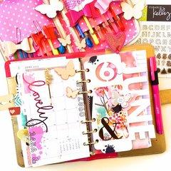 June Planner Dashboard Layout