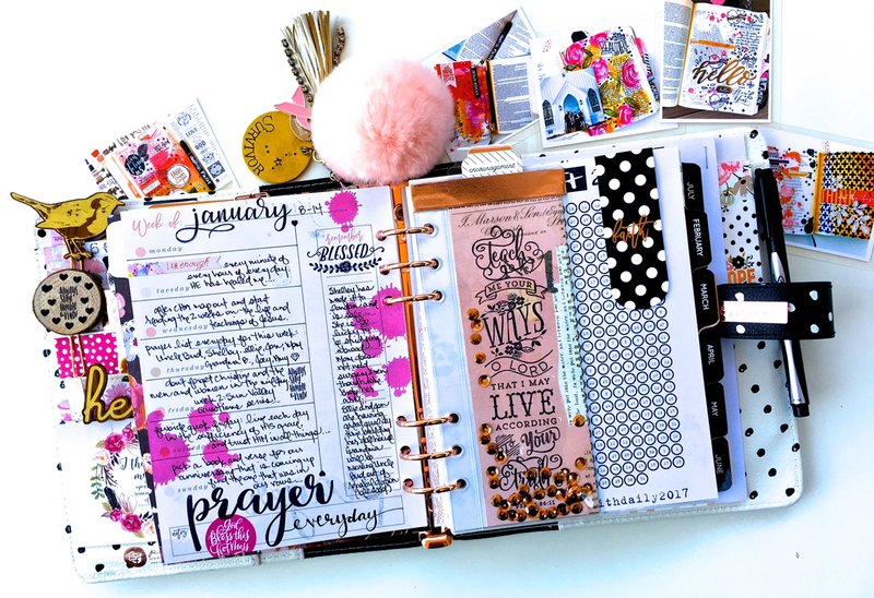 Week 2 Layout in my Faith Planner