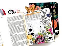 Bible Journaling Layout - Your love endures forever