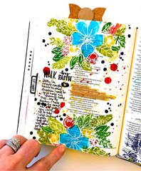 Walk by Faith Journaling Bible Layout