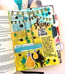 Shine Journaling Bible Layout