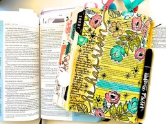 Journaling Bible Layout - He has Risen