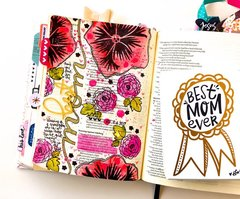 Best Mom Bible Journaling Layout