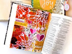 Journaling Bible Layout - 21st birthday