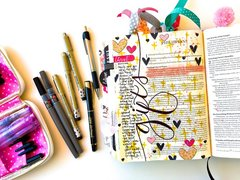 Gifts - Journaling bible Layout