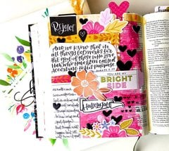 Rejoice Journaling Bible Layout