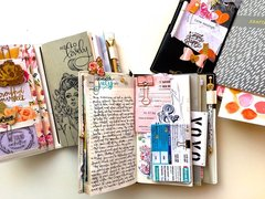 Traveler's Notebook Daily Layout