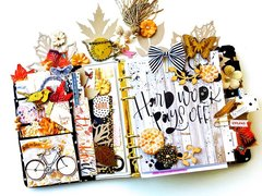 Planner Dashboard and Pocket Layout for Fall