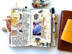 Home Sweet Home Traveler's Notebook Layout
