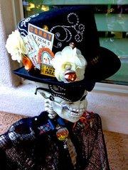 Halloween Skeleton Decor