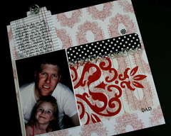 Dad Hidden Journaling Tag - Teresa Collins New Documented Collection