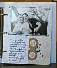 Cherish Memory Book Binder Page 1
