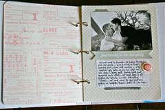 Cherish Memory Book Binder Page 3