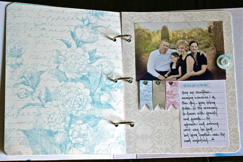 Cherish Memory Book Binder Page 4
