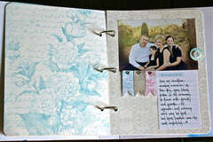 Cherish Memory Book Binder Page 4
