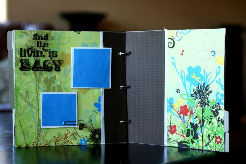 Bo Bunny Livin' Is Easy 9 x 9 Minibook Kit