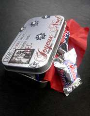 Holiday Goodie Tin - Gift Card Holder