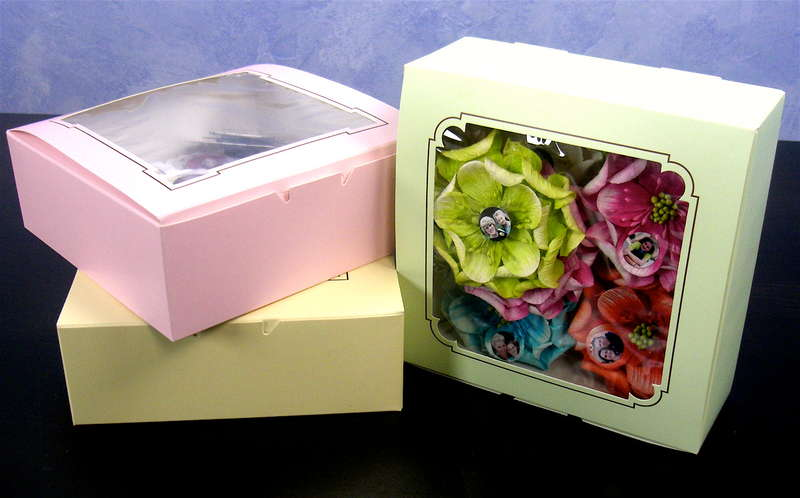 Mother's Day Flower Magnet Gift Boxes