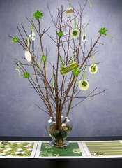 St. Patrick's Day Tree Centerpiece