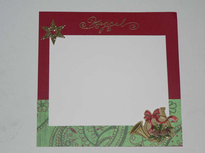 Magical layout for Christmas ABC sawp
