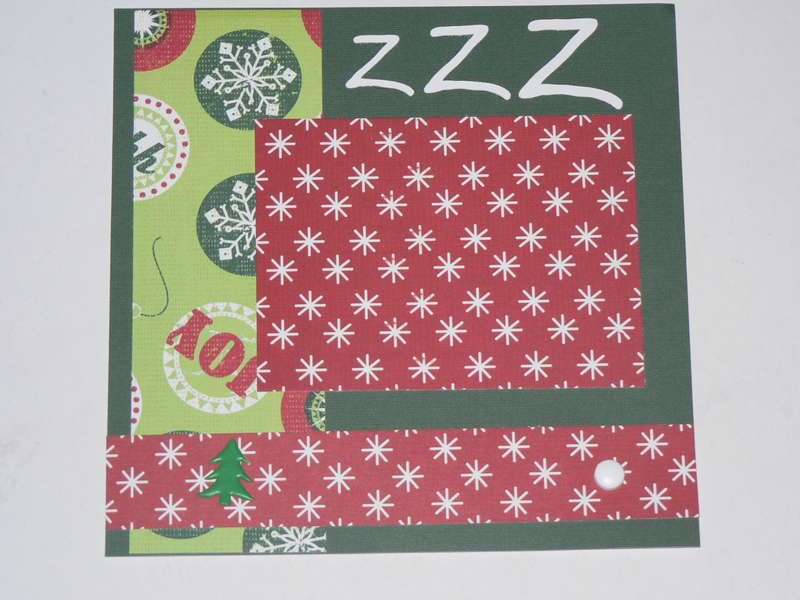 ZZZ Layout for 6x6 Christmas ABC swap