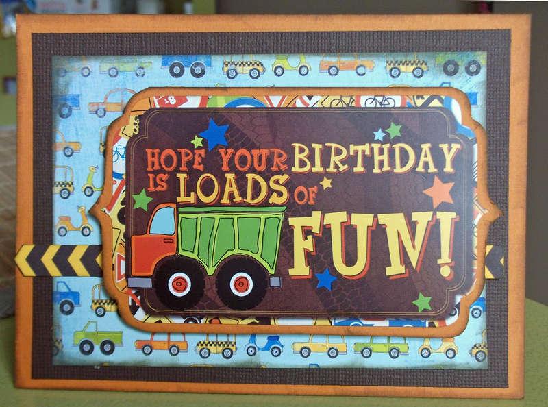 Nephew's Bday card