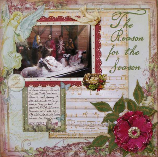 The Reason for the Season- Dec ScrapThat kit
