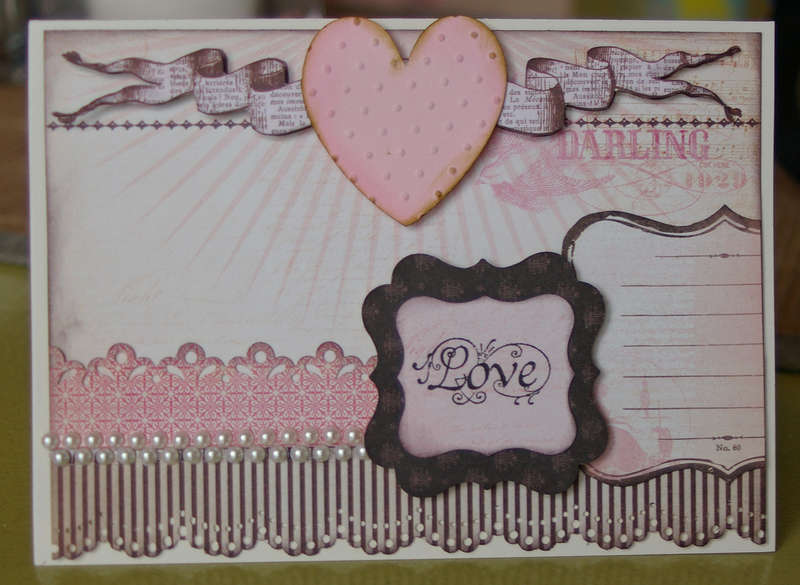 Valentine's card for hubby